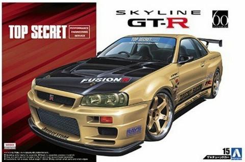 Nissan Skyline GT-R R34 TopSecret  1/24