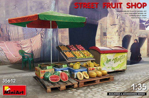 Street Fruit Shop  1/35