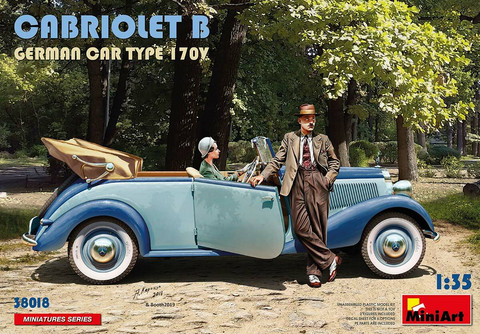 German Car Type 170V Cabriolet B  1/35