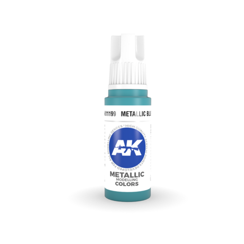 Metallic Blue 17ml