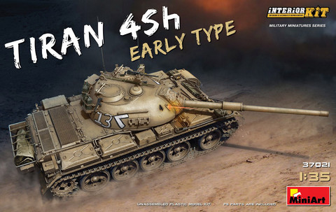 Tiran 4 Sh Early Type (Full Interior Kit)  1/35