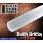 Rolling Pin, 15mm Dutch Bricks