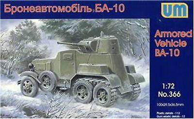 BA-10 Soviet Armoured Car  1/72