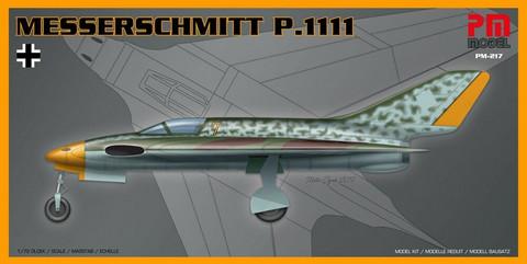 Messerschmitt Me P.1111  1/72