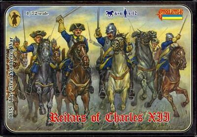 Swedish Reitars of Charles XII  1/72