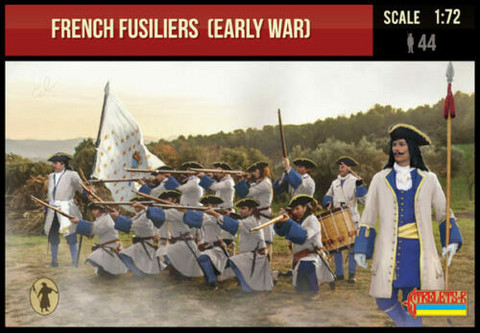 French Fusiliers (Early War)  1/72