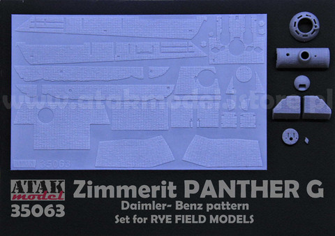 Zimmerit Panther G (Rye Model)