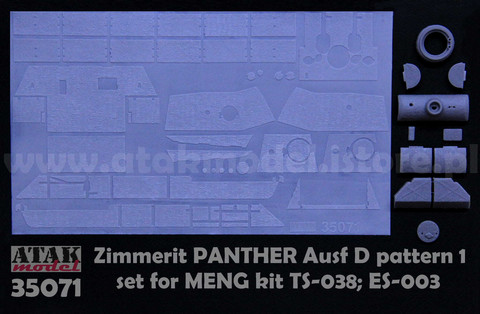 Zimmerit Panther D (Meng)