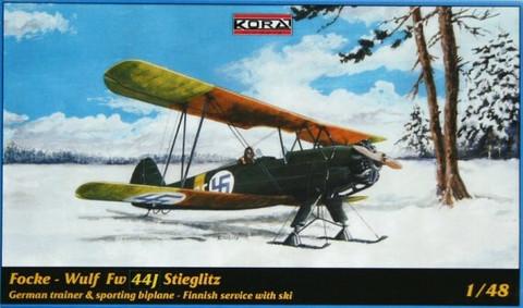 Focke-Wulf Fw 44J Stiegliz  1/48
