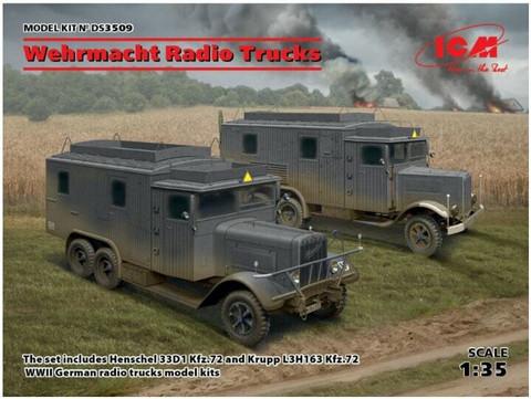 German Radio Trucks  1/35