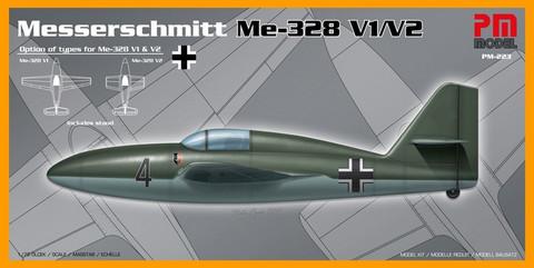 Messerschmitt Me-328V-1 / Me 328V-2  1/72