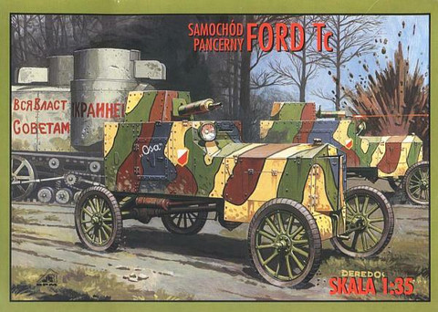 Ford Tc Armoured Car  1/35