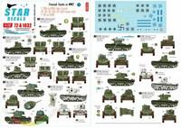 Finnish Tanks in WWII #4 T-26m1931 Twin Turret T-26 m1939, Ot-26, OT-130, OT133 Flame Thrower Tanks  1/72