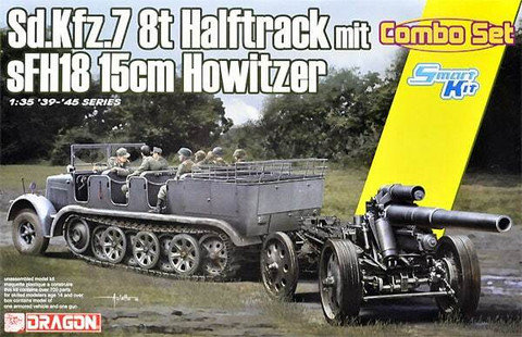 SdKfz 7 & s.FH.18 150mm Howitzer  1/35