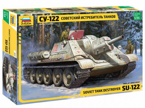 SU-122 Soviet Assault Gun  1/35