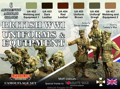 British Uniforms & Equipment