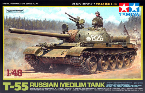 T-55 Russian Medium Tank  1/48