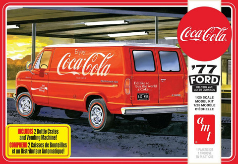 1977 Ford Van with Coca Cola Vending Machine  1/25