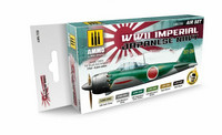 WWII Imperial Japanese Navy Aircrafts Paint Set