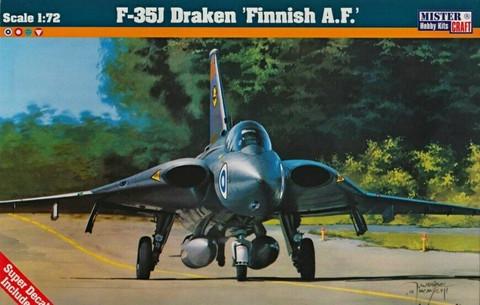 Saab J-35J Draken Finnish Air Force (ex Revell Kit) 1/72