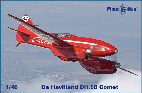 de Havilland DH.88 Comet	  1/48