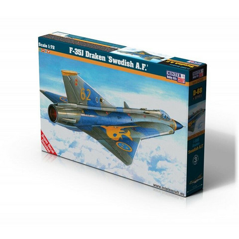 "F-35J Draken ""Swedish Airforce"" (ex Revell kit)	1/72"
