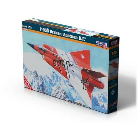 """F-35Ö Draken """"Austrian Airforce"""" (ex Revell Kit)  1/72"""