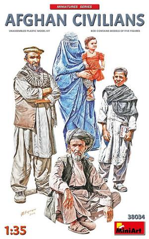 Afgan Civilians  1/35