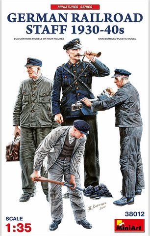 German Railroad Staff  1/35