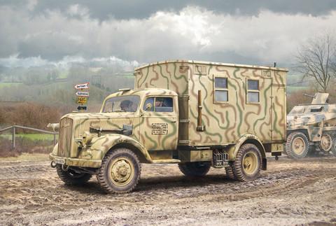Opel Blitz Einheitskoffer Radio Truck SdKfz 305/22  1/35