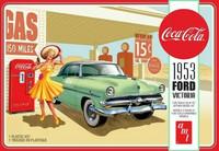 1953 Ford Victoria Hardtop with Coca Cola Vending Machine  1/25