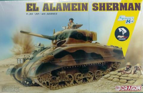 El Alamein Sherman  (Smart Kit)  1/35