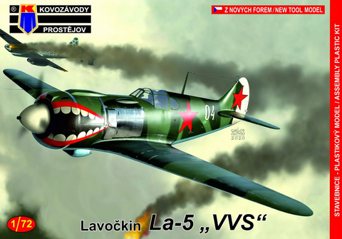 "Lavochkin La-5 ""VVS"" Soviet Air Force  1/72"