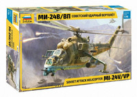 MI-24V/VP Hind E Soviet Attack Helicopter  1/48