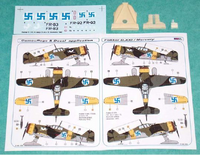 Fokker D.XXI Finnish Decal with Resin Parts1/72