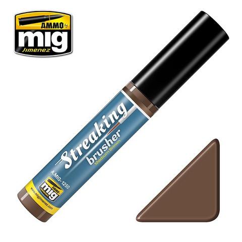 Streaking Brushers Medium Brown
