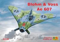 Blohm-und-Voss Ae-607  1/72