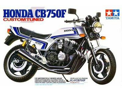 "Honda CB750F ""Custom Tuned""  1/12"