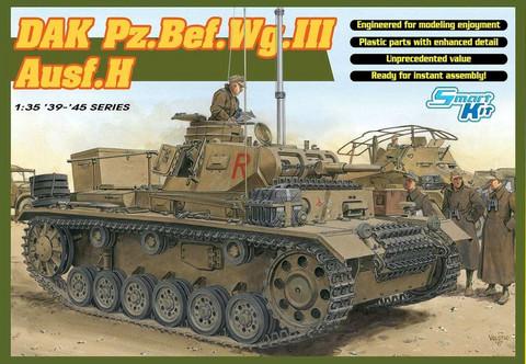 DAK Pz.Bef.Wg III Ausf.H  1/35