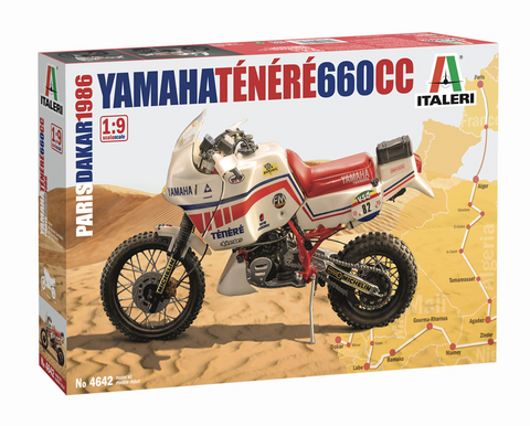 Yamaha XT Teneré 660cc 1986  1/9
