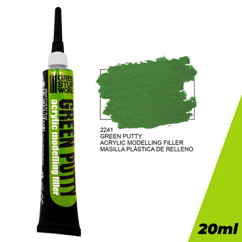 Acrylic Green Putty 20ml tuubi