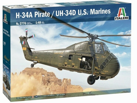 "H-34A ""Pirate"" /UH-34D Marines	1/48"