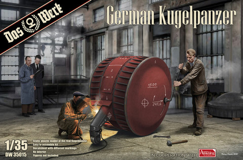 German Kugelpanzer ( 2 kits Pack)  1/35