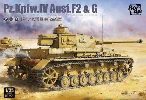 PzKpfw IV Ausf.F2 & Ausf.G  1/35