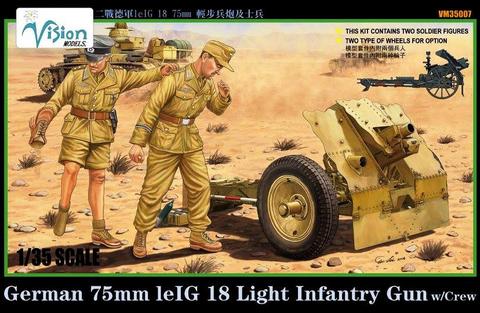 German 7.5cm LeIG 18 Leichtes Infantriegeschütz  1/35