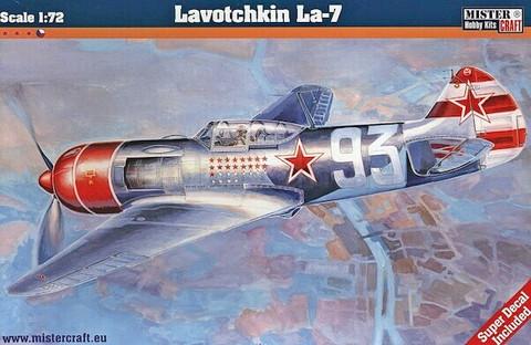 Lavotchkin La-7 with Super Decal  1/72