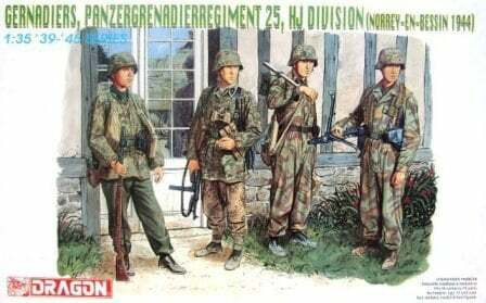 Pz.Gren.Rgt 25, HJ Division (Norrey-En_Bessin 1944)  1/35