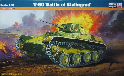 T-60 Light Tank Battle of Stalingrad	  1/35