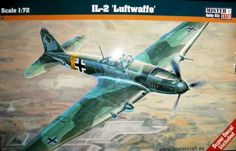 """Iljushin IL-2 Stormovik """"Luftwaffe""""  1/72"""