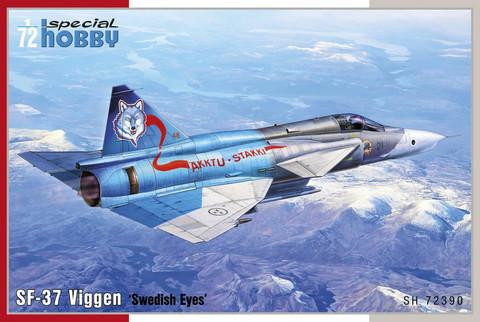 "Saab SF-37 Viggen Recce version ""Swedish Eyes""  1/72"